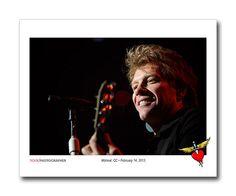 """14 февраля 2013 года, Монреаль (Канада, Квебек), спорткомплекс """"Белл-центр"""", концерт группы Bon Jovi в рамках мирового турне 2013 года """"Because We Can"""". Фото Дэвида Бергмана"""