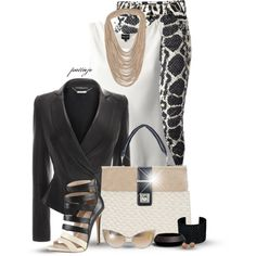 """Snake Charmer"" by rockreborn on Polyvore"