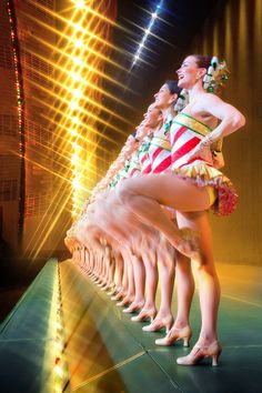 The Rockettes at Radio City Music Hall (everyone should experience this)