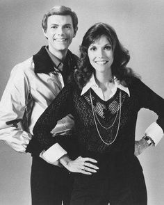 The Carpenters Portrait B/W 8x10 Photograph
