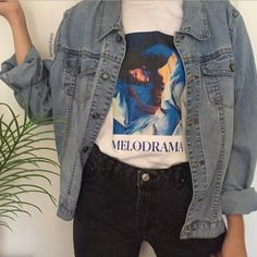 Wish | Lorde Album Cover Melodrama Painting T-Shirt Unisex Pop Music Graphic Tee Grunge Aesthetic Street Style Tee Shirt Short Sleeves