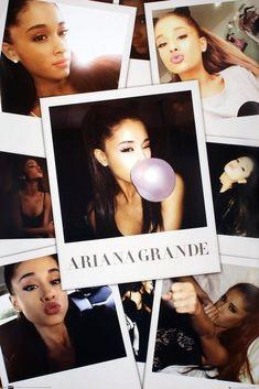 Ariana Grande Selfies Poster Print Wall Art Large Maxi