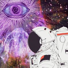 astronaut trippy weed wallpaper - photo #36
