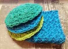 Cotton Washcloth Spa Set