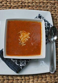 Cheese Please: Fresh Tomato Basil Bisque