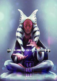 Commission: Star Wars, Seshla Phaa by LenamoArt