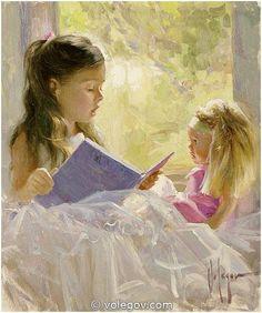 STORYTELLER, painting pictures on Volegov.com