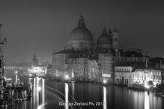 photo by Giorgio Zerbini - Notturno chiesa della salute