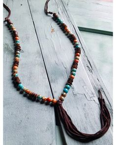 Jewelry Junkie Women's Multi-Colored Turquoise Necklace , Multi