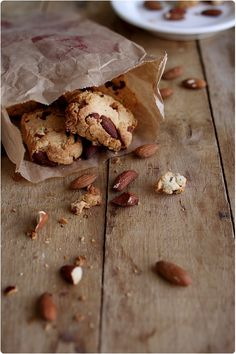 Canistrelli - corsican biscuits with almonds - French island in Mediterranean