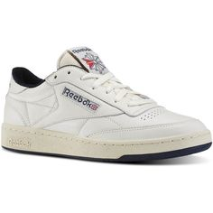 2e82305cb8ca3 ... Reebok Club C 85 Vintage (1.792.775 VND) ❤ liked on Polyvore featuring  Reebok Classic Leather ...