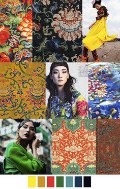 F/W 2017 Women's Trend: ASIAN FUSION