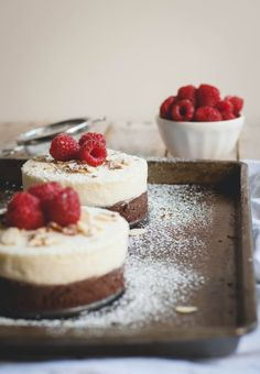 No-Bake Almond and Raspberry Double Chocolate Cake // Eff the Oven August