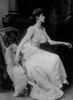 """Violet Lindsay Manners, Duchess of Rutland. She was one one of the chief """"Souls"""" and mother of the famous Lady Diana Cooper."""