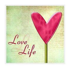 Love Life Coaster. $5.00, via Etsy.