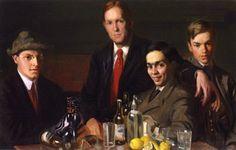 The Art Students (Philip Leslie Hale - )