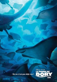 Affiche #Film #LeMondeDeDory Disney pixar #Animation #Cinéma