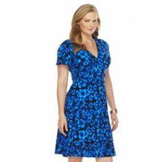 3bea1633b28 Chaps Floral Empire Dress - Women s Plus Kohls Dresses