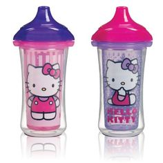 Black Friday Munchkin Hello Kitty Click Lock 2 Count Insulated Sippy Cup, 9 Ounce from Munchkin