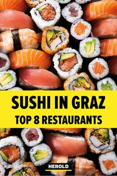 Sushi Bar, Sushi Restaurants, Road Trip, Camping, Ethnic Recipes, Travel, Food, Graz, Japanese Kitchen