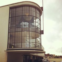 Bexhill Art Deco architecture Felix the Cat model in the De La warr pavilion