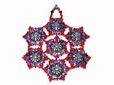 Purple & Silver Snowflake Ornament Kit