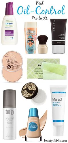 Best Oil-Control Products --- I actually use the Covergirl Clean brand. It's a pretty light makeup, but still covers the redness in my face very well.