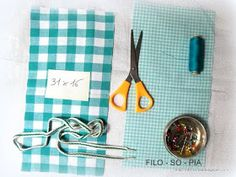 filo-so-pia: Cestini di stoffa Confetti, Sewing, Crafts, Fabric Basket, Recycled Materials, Hampers, Crochet Buttons, Jean Bag, Sachets