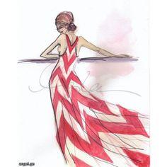 ახალი ილუსტრაციები Inslee Haynes-საგან » ANGEL.GE ❤ liked on Polyvore featuring sketches and drawings