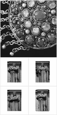 """Our """"Black-and-White Art"""" collection features crisp, detailed photography."""