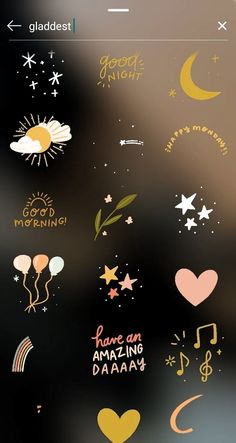 cute stickers for snap Instagram Blog, Ideas De Instagram Story, Instagram Hacks, Instagram Emoji, Iphone Instagram, Creative Instagram Stories, Instagram Design, Instagram And Snapchat, Instagram Quotes