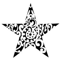 Leo dragon star tattoo #samoan #tattoo