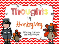 Have your students write about what they are thankful for with this fun and engaging Thanksgiving writing craftivity! This activity challenges students to not only consider what they are thankful for, but why! This would also make an excellent bulletin board