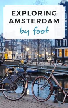 Exploring Amsterdam by foot! / Sophie's Suitcase