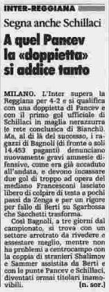 SCRIVOQUANDOVOGLIO: CALCIO COPPA ITALIA:SECONDO TURNO RITORNO (02/09/1...