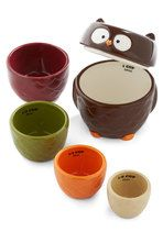 Sale - Owl Accounted For Measuring Cup Set