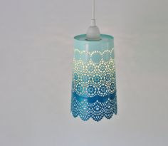 Ombre Pendant Light Hanging Pendant Lighting Fixture by BootsNGus