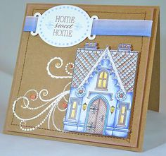 Waltzing Mouse Stamps, card by @Pauline Pollington