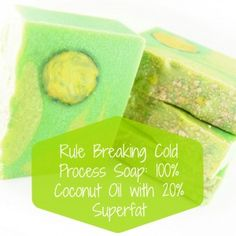 Defying the Rules of Soapmaking: Coconut Oil Soap with Aloe Vera and a Mantra Swirl - Soap Queen Handmade Soap Recipes, Soap Making Recipes, Handmade Soaps, Diy Soaps, Coconut Oil Soap, Coconut Oil For Skin, Coconut Flour, Aloe Vera, Mantra