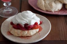A recipe for Simple Strawberry Shortcakes!