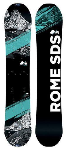 Powder Room 153 Snowboard--SURF POWDER IN WILD PLACES