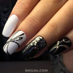 35 Easy Nail Design Ideas for Party / Incredibly & Casual Creative Nail Designs, Toe Nail Designs, Nail Polish Designs, Simple Nail Designs, Creative Nails, Nails Polish, Toe Nails, Beautiful Nail Art, Gorgeous Nails