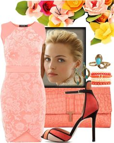 """""""spring wedding outfit"""" by n2000r ❤ liked on Polyvore"""