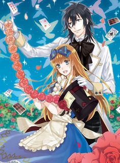 Heart No Kuni No Alice / Alice in the country of hearts alice and blood
