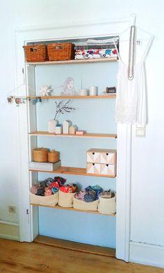 t rregal selber bauen anleitung f r ein regal in einer t rzarge selbst bauen regal und t ren. Black Bedroom Furniture Sets. Home Design Ideas