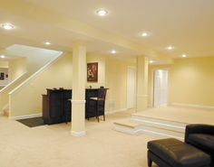 pictures of finished basements | Basement Decorating Tips