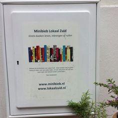 De Minibieb in Lokaal Zuid aan de Lindengracht 25 in Vreeland aan de Utrechtse Vecht