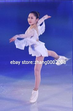 Satoko Miyahara of Japan performs her routine in the exhibition on the day four of the 2015 Japan Figure Skating Championships at the Makomanai Ice Arena on December 2015 in Sapporo, Japan. Figure Skating Competition Dresses, Figure Skating Outfits, Figure Skating Costumes, Figure Skating Dresses, Women Figure, Ladies Figure, Dance Costumes Lyrical, Figure Poses, Ice Princess