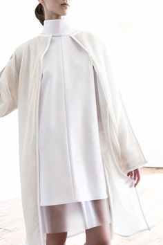 Nurse or Technician Love the jacket and the incorporation of PVC on the Dress Hem  Kay Frank