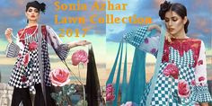 Sonia Azhar Lawn Collection 2017 Woth Price Full Catalogue http://www.womenclub.pk/sonia-azhar-lawn-collection-2017-with-price-full-catalogue.html #SoniaAzhar #Lawn #Collection #Lawn2017 #Catalogue #Fashion #Dresses